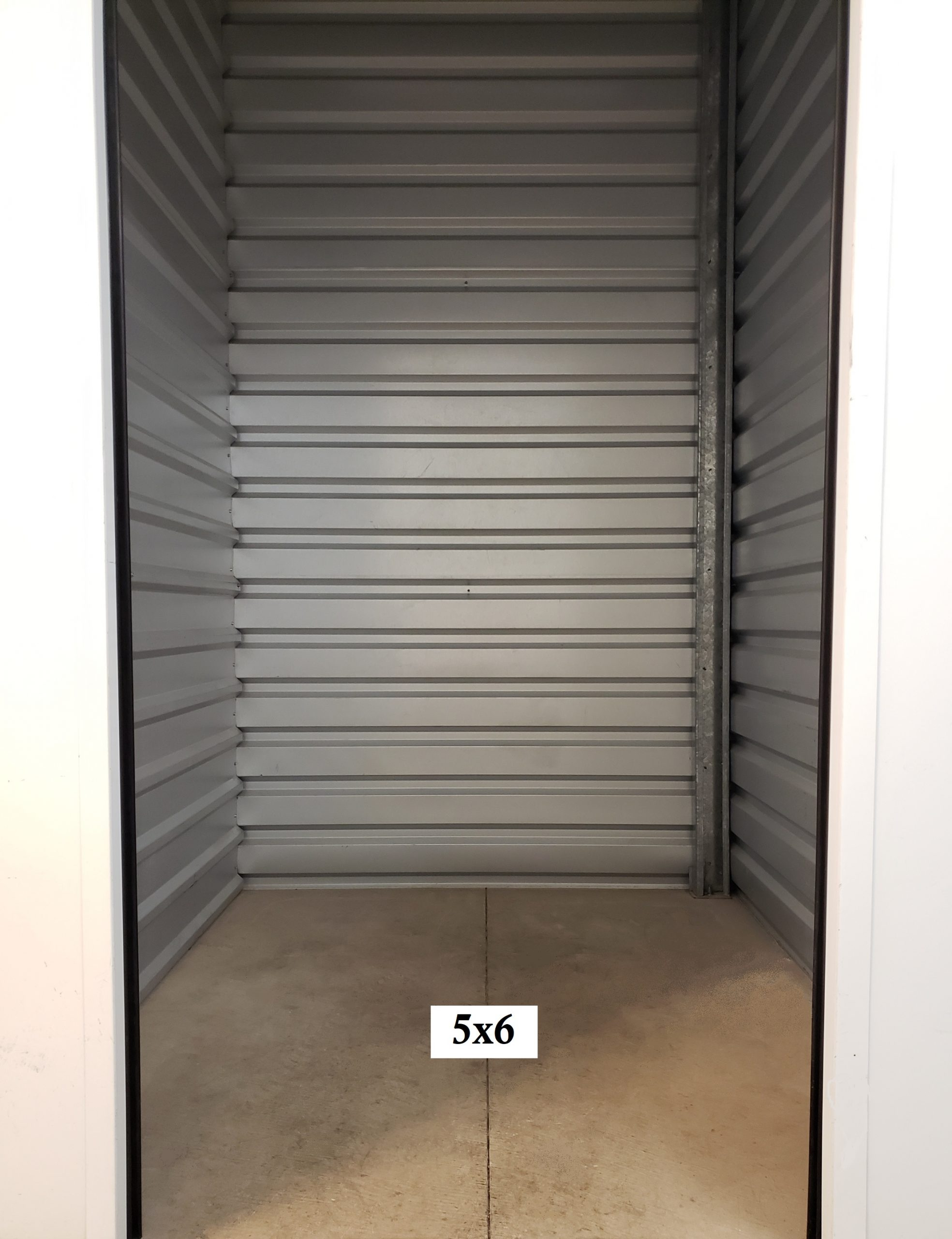 5x6 Self Storage Unit